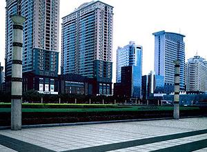 Condo Development Walkway