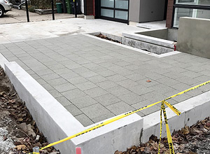 Off-Street Residential Parking Pad