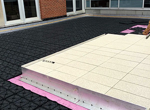 hydroPAVERS® - Creating A Slip And Puddle Free Zone