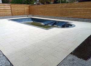 Swimming Pool Deck - In Construction