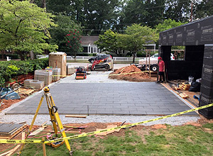 Residential - Charcoal hydroPAVERS®