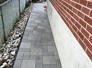 Walkway Solution With hydroPAVERS®