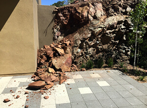 """We had what they call a 1000 year storm! The pavers held up amazingly well even with this"""