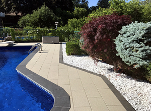 Slip Free And Puddle Free With hydroPAVERS®