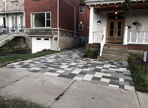 hydroPAVERS® Residential Heated Driveway Montreal