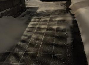 hydroPAVERS® Montreal Heated Driveway