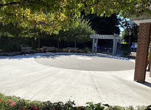 hydroPAVERS® Completed -  Rossetta McClains Gardens