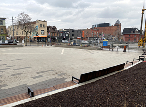hydroPAVERS® - Riverside Park In Construction