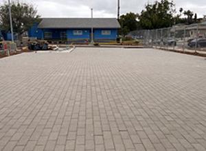 King Chavez San Diego hydroPAVERS® Parking Lot