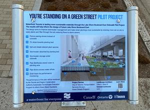 hydroPAVERS-Waterfront Toronto Pilot Sidewalk